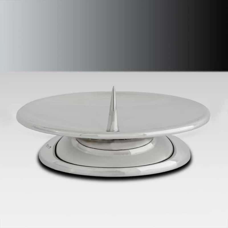 Handgefertigter Taufleuchter 14514 aus Silber   Möhrle Silber Germany