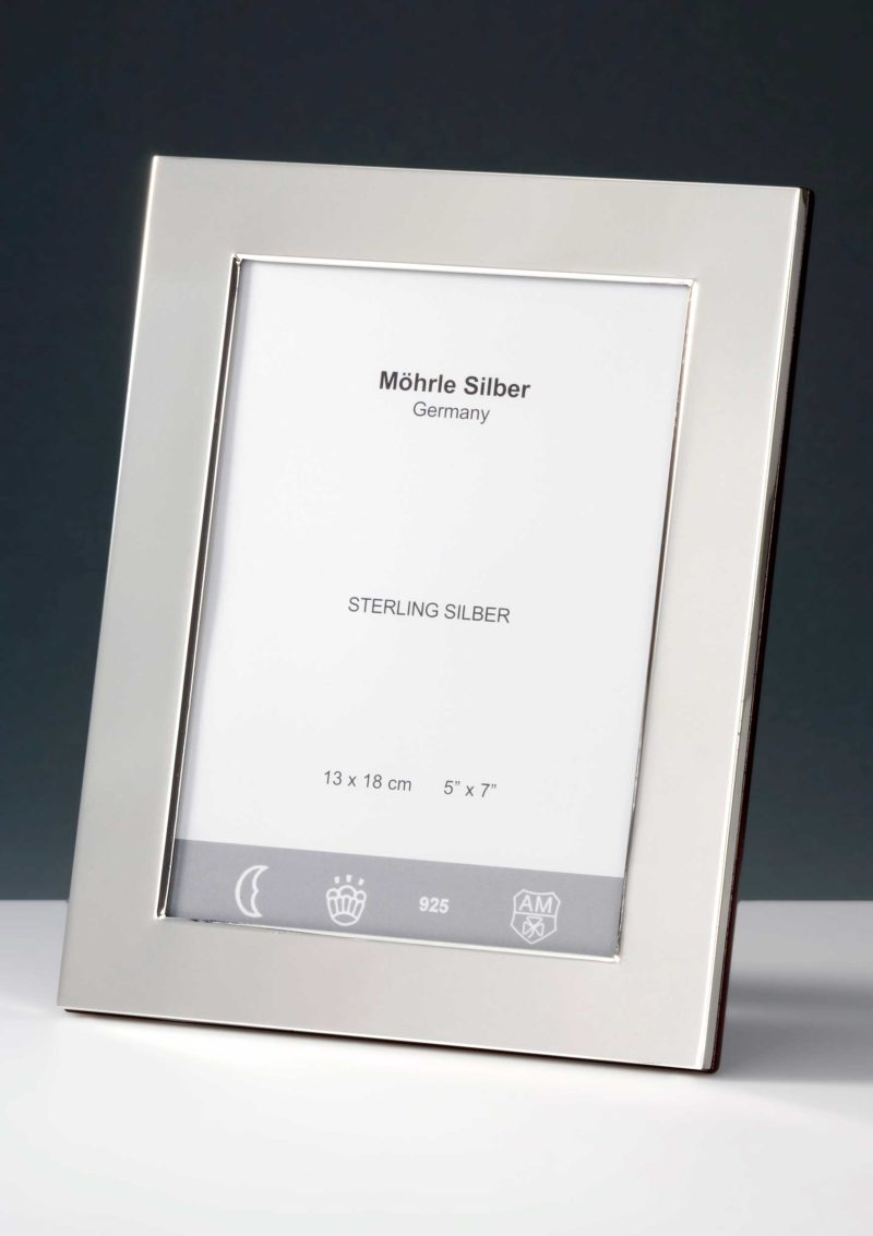 "Bilderrahmen Silber 925 ""100"" | Möhrle Silber Germany"