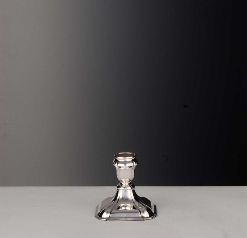 """Kerzenständer Silber 925 """"Französisch Barock 1730""""   Möhrle Silber"""