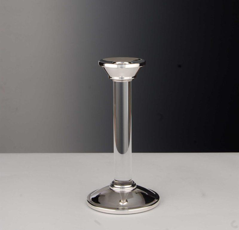 "Kerzenständer Silber 925 ""14453"" Kristall | Möhrle Silber Germany"