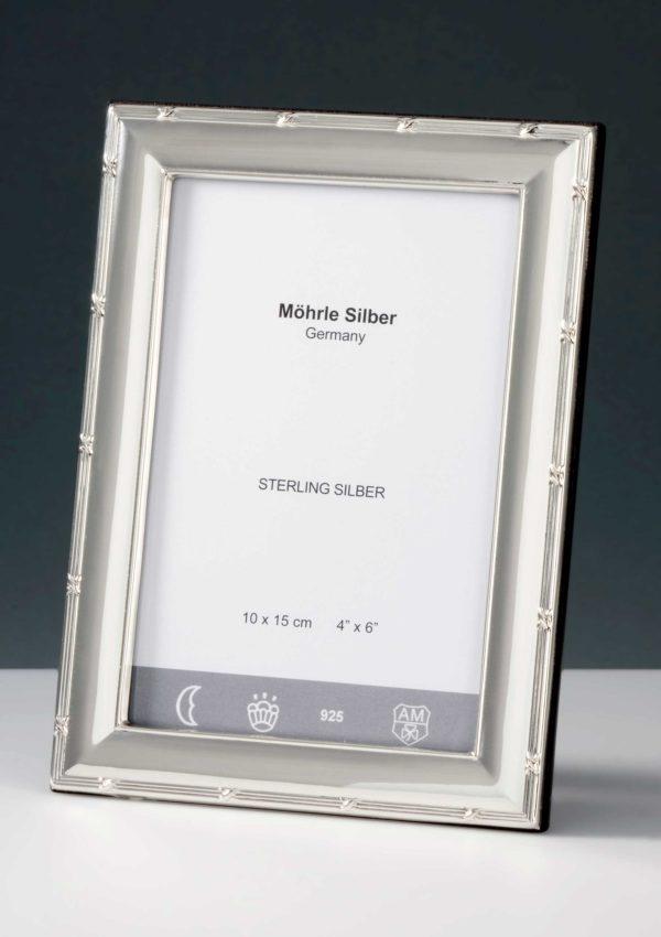"Bilderrahmen Silber 925 ""243"" Kreuzband   Möhrle Silber Germany"