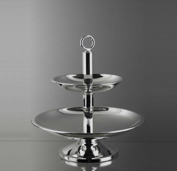 "Etagère ""14482"" Bauhaus 925 Sterling Silber   Möhrle Silber"