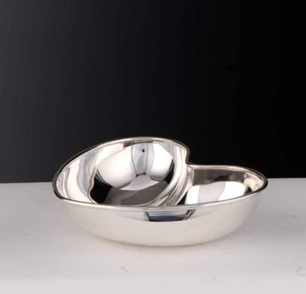 "Schale ""14490.0"" Herzform 925 Sterling Silber Massiv"