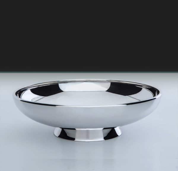 """Schale """"14071"""" mit Fuß 925 Sterling Silber Massiv   Möhrle Silber"""